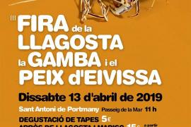 Sant Antoni acoge este sábado la Feria de la Langosta, la Gamba y el Pescado de Ibiza