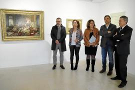 Cuadros de la Fundació Sa Nostra en el Museu de Mallorca