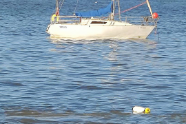 Vecinos de Talamanca denuncian un posible vertido de fecales en la bahía