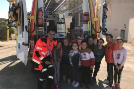 La Unidad de Seguridad del Paciente de Ibiza forma a un grupo de 150 niños en emergencias o lavado de manos