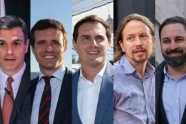Pedro Sánchez rechaza el 'cara a cara' con Casado y acepta un debate a cinco el 23 de abril