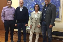 Joan Ramon Xamena, Maria Arenas y Francesc Miralles.