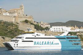 Baleària ofrece un 22 % más de plazas en sus conexiones con Ibiza en Semana Santa