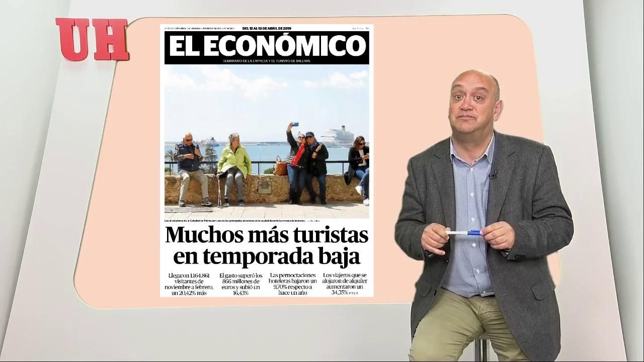 Muchos más turistas en temporada baja