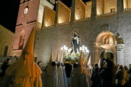 La Virgen de los Dolores inicia la semana de pasión en Vila