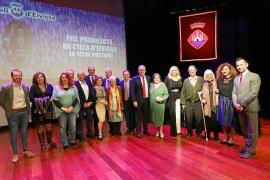 El Consell d'Eivissa rinde homenaje a la implicación ciudadana en un emotivo acto