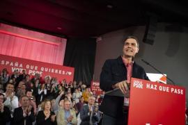 """Sánchez pide el voto a los indecisos presentándose como la opción más cabal, """"visto lo visto"""""""