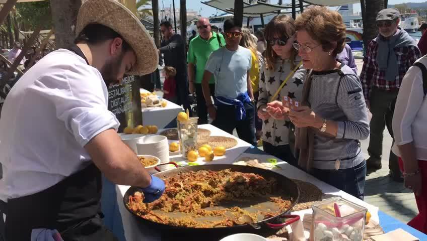 Sant Antoni celebra la Feria de la Langosta, la Gamba y el Pescado de Ibiza