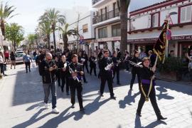El Domingo de Ramos en Santa Eulària, en imágenes (Fotos: Marcelo Sastre).