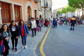 Rutas escolares en Algaida