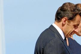 Carla Bruni y Nicolás Sarkozy