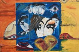 Cuatro artistas de Ibiza se citan desde el viernes en la exposición 'Cuinat d'Art' de Can Portmany