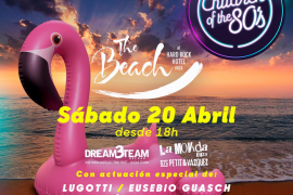 Children of the 80´s Beach Edition regresa a Hard Rock Ibiza