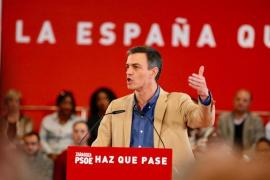 La visita de Pedro Sánchez hoy a Ibiza se limitará a un paseo por Vara de Rey de Vila de solo 20 minutos