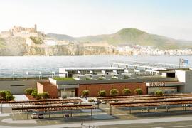 Las obras de la estación marítima definitiva de es Botafoc empezarán el mes que viene