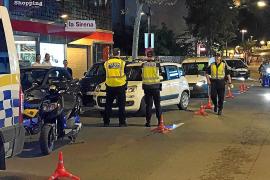 Detenido en Ibiza circulando con un coche robado, bebido y sin permiso de conducir