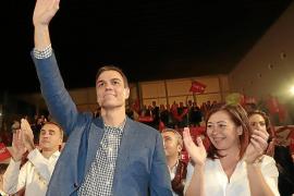 Sánchez llama a movilizarse y pide el apoyo de quienes nunca antes han votado al PSOE