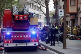 Un adulto y dos menores mueren en un incendio en un piso de L'Hospitalet