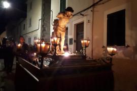 procesión del Jueves Santo en Sineu