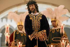 Nuestro Padre Jesús Cautivo, gran protagonista de la procesión previa a la del Viernes Santo