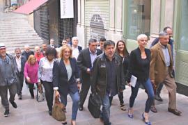Integrantes de la candidatura de Sumam al Ajuntament de Palma