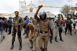 Detenidas 24 personas en relación con la ola de atentados que ha dejado 290 muertos en Sri Lanka