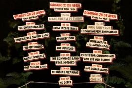 Quince bandas locales, nacionales e internacionales participarán en el Segundo Ibiza Swing Fun Fest