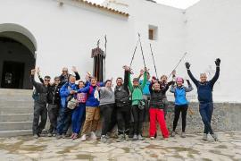 La primera edición del Trekking la completan once participantes