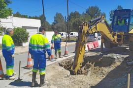 Una rotura en el colector de Cala de Bou deja sin agua a 6.000 vecinos