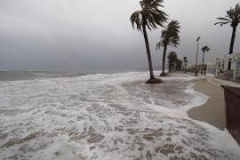 Emergencias activa el Índice de Gravedad 0 por fuertes vientos en las Pitiusas