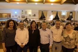 Candidatos del PSIB-PSOE en un acto de campaña en Inca