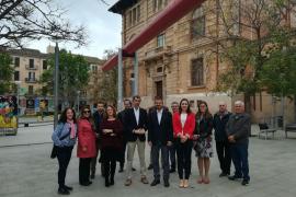 Candidatos de Ciudadanos en un acto sobre educación