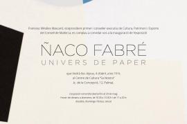 'Univers de paper' del artista Ñaco Fabré en el Centre de Cultura Sa Nostra