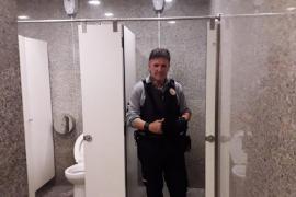 Los vigilantes de la Intermodal salvan la vida a una suicida en los baños