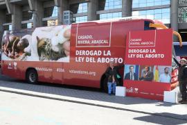 Derecho a Vivir lanza un autobús contra el aborto