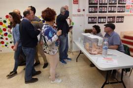La participación alcanza el 41,48 % en el primer avance de esta jornada electoral