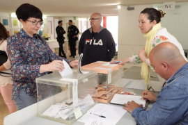 La participación alcanza el 60,67 % en el segundo avance de esta jornada electoral