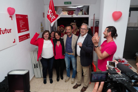 El PSOE ibicenco celebra su victoria y espera repetir en las elecciones locales y autonómicas