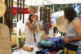 El Ibiza Spirit Festival en el agroturismo Atzaró, en imágenes (Fotos: Irene Arango).