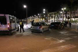 Detenido un conductor que dio positivo tras atropellar a un peatón en Ibiza