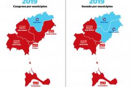 Santi Marí consiguió casi 1.500 votos más que la lista del PP al Congreso