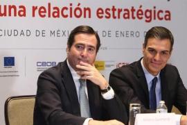 Garamendi (CEOE): «Un Gobierno monocolor del PSOE sería posiblemente más adecuado para España»