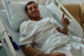 Iker Casillas: «Ha sido un susto grande»