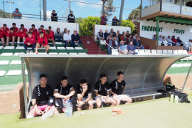 El partido entre la Peña Deportiva y el Santa Catalina. en imágenes (Fotos: Marcelo Sastre).
