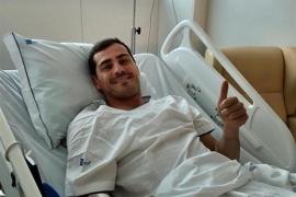 """Casillas: """"Un susto grande, pero con las fuerzas intactas"""""""