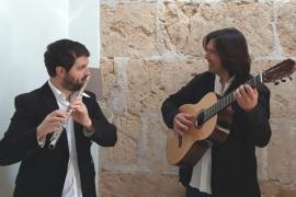 Concierto de Pere Sansó y Manel Martorell en la Església d'Algaida