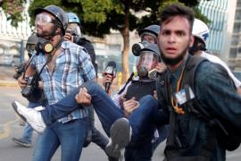 Periodista herido en Venezuela