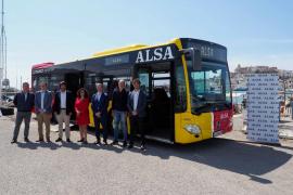 La línea 12A contará con el primer autobús híbrido con servicio permanente en Ibiza