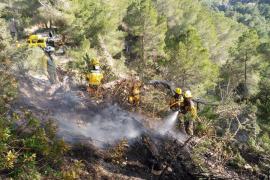 La Unidad Militar de Emergencias ya está en Ibiza para luchar contra los incendios