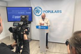 El PP de Ibiza elige 'La solución es azul' como lema de campaña las elecciones del 26 de mayo